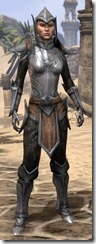 Dark Elf Steel - Female Front