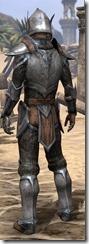 Dark Elf Steel - Male Rear