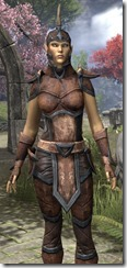 Dunmer Rawhide - Female Close Front