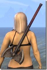 Akaviri Iron Battle Axe 2
