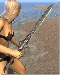Altmer Iron Sword 2