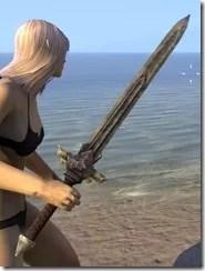 Ancient Elf Iron Sword 2