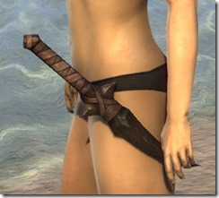 Barbaric Iron Dagger