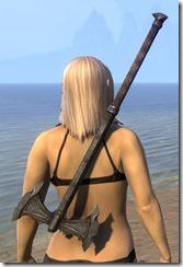 Daedric Iron Battle Axe 2