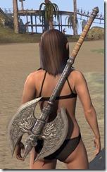 Daggerfall Covenant Iron Battle Axe