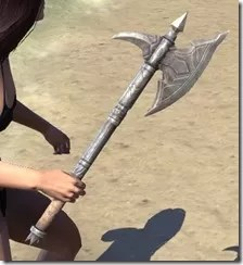Dark Brotherhood Iron Axe 2