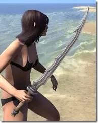Dark Brotherhood Iron Sword 2