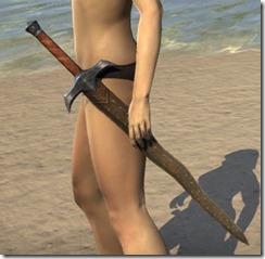 Dunmer Dwarven Sword