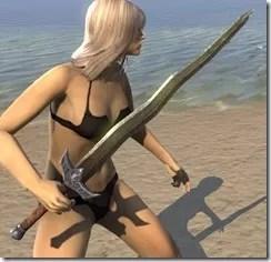 Dunmer Orichalc Sword 2