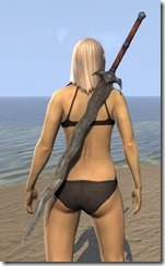 Dunmer Steel Greatsword 2