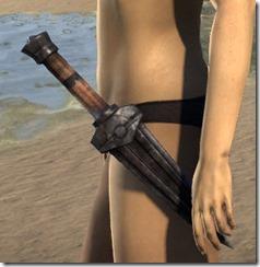 Dwemer Iron Dagger
