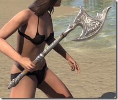 Ebonheart Pact Iron axe 2