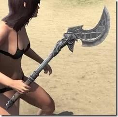 Grim Harlequin Iron Axe 2