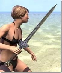 High Elf Orichalc Sword 2