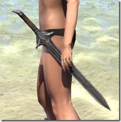 High Elf Steel Sword
