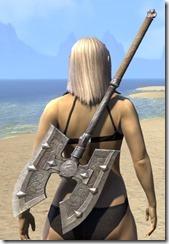 Mercenary Iron Battle Axe 2