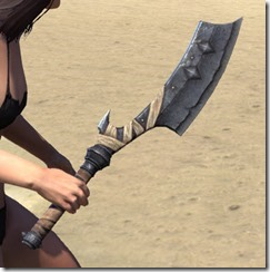 Minotaur Iron Axe 2