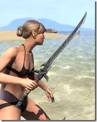 Dremora Iron Sword 2