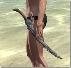 Elder Argonian Iron Sword 1
