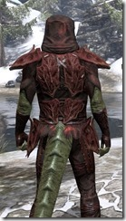 Ashlander Medium - Argonian Male Close Rear