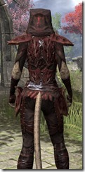 Ashlander Medium - Khajiit Female Close Rear