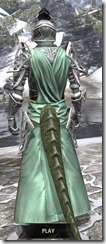 Apostle Homespun - Argonian Male Robe Rear