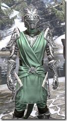 Apostle Homespun - Argonian Male Shirt Close Front