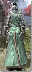 Apostle Homespun - Khajiit Female Robe Rear