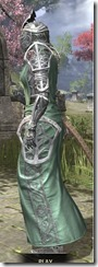 Apostle Homespun - Khajiit Female Robe Side
