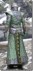 Ashlander Homespun - Argonian Male Robe Rear