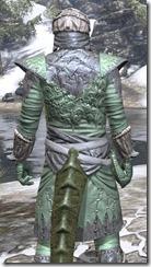 Ashlander Homespun - Argonian Male Shirt Close Rear