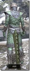 Ashlander Homespun - Argonian Male Shirt Rear