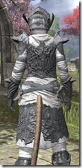 Ashlander Iron - Khajiit Female Close Rear