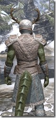 Bloodforge Rawhide - Argonian Male Close Rear