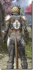 Dead-Water Iron - Khajiit Female Close Rear