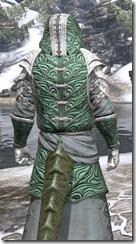 Abah's Watch Homespun - Argonian Male Robe Close Rear