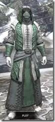 Abah's Watch Homespun - Argonian Male Robe Front