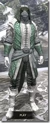 Abah's Watch Homespun - Argonian Male Shirt Front