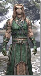 Akaviri Homespun - Argonian Male Robe Close Front