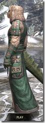 Akaviri Homespun - Argonian Male Robe Side