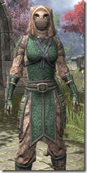 Akaviri Homespun - Khajiit Female Shirt Close Front