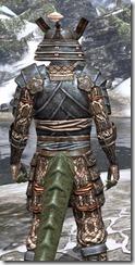 Akaviri Iron - Argonian Male Close Rear