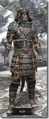 Akaviri Iron - Argonian Male Front