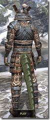 Akaviri Iron - Argonian Male Rear