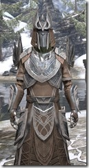 Aldmeri Dominion Homespun - Argonian Male Robe Close Front