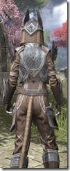 Aldmeri Dominion Homespun - Khajiit Female Shirt Close Rear