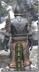 Aldmeri Dominion Iron - Argonian Male Close Rear
