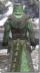 Ancient Elf Homespun - Argonian Male Robe Close Rear