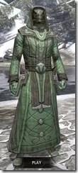 Ancient Elf Homespun - Argonian Male Robe Front