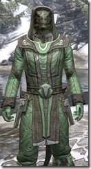 Ancient Elf Homespun - Argonian Male Shirt Close Front
